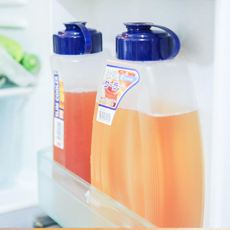 Bình lưu trữ nước trong ngăn tủ lạnh tiện lợi (1L) - Hàng nội địa Nhật