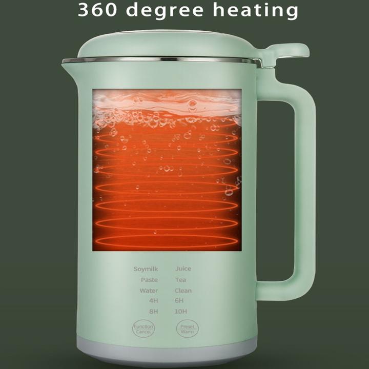 Máy làm sữa hạt Mini đa năng cao cấp HB-B12, 6 chức năng vượt trội, công suất 500W, dễ dàng vệ sinh