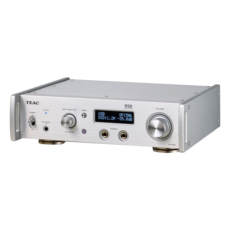 Amply Headphone TEAC UD-503 - Bạc - Hàng Chính Hãng