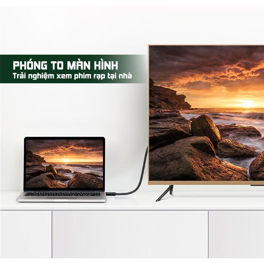 Dây HDMI 2.0 thuần đồng khử Oxy hóa UGREEN HD116 - Hãng chính hãng