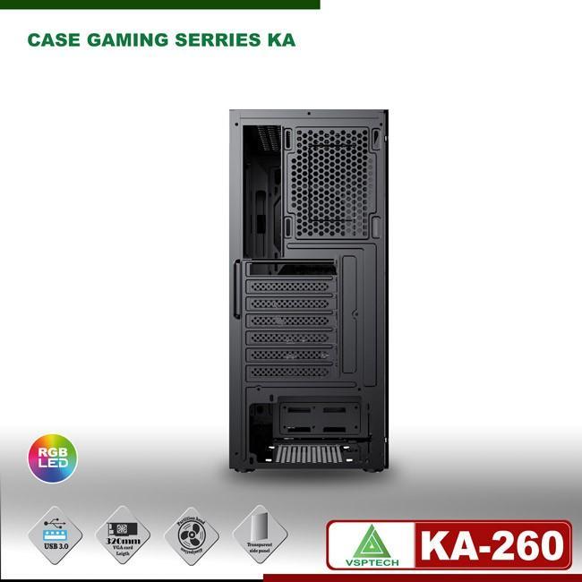 VỎ NGUỒN MÁY TÍNH Case gaming VSPTECH KING ARMS KA-260
