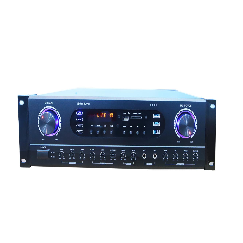 Amply karaoke Bradwell BR380 Hàng nhập khẩu