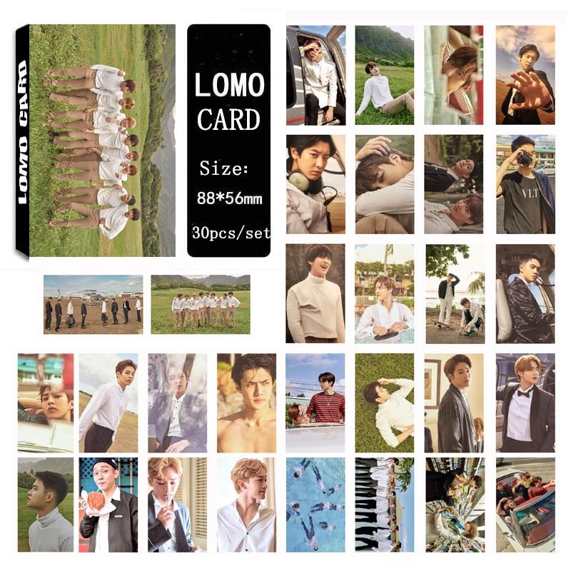 Bộ lomo card EXO Collective Card ảnh Hawaii
