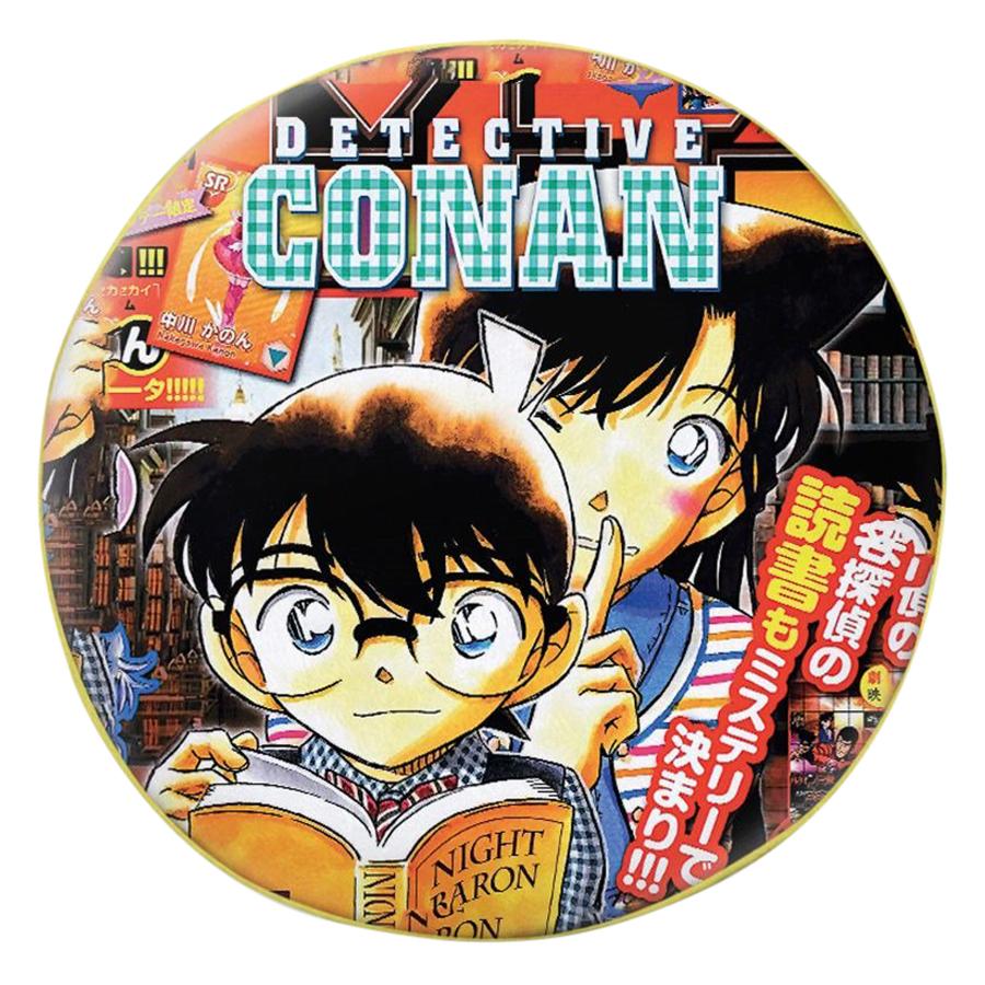 Gối Ôm Tròn Conan Và Ran - GOMA006