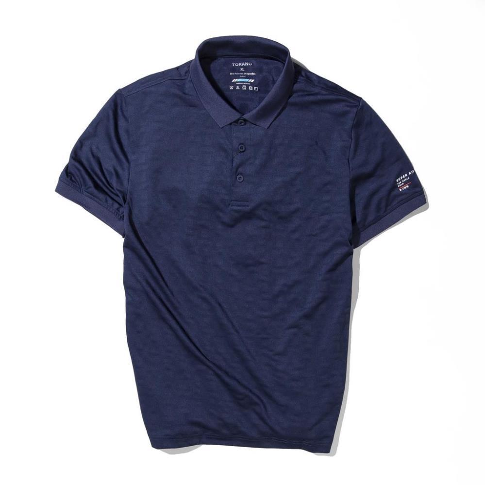 Áo polo nam cổ bẻ, áo thun nam SUPER AIR POLO thoáng khí, siêu co giãn từ TORANO TP101