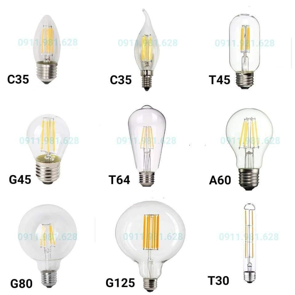 Bóng đèn LED Edison A60 4W