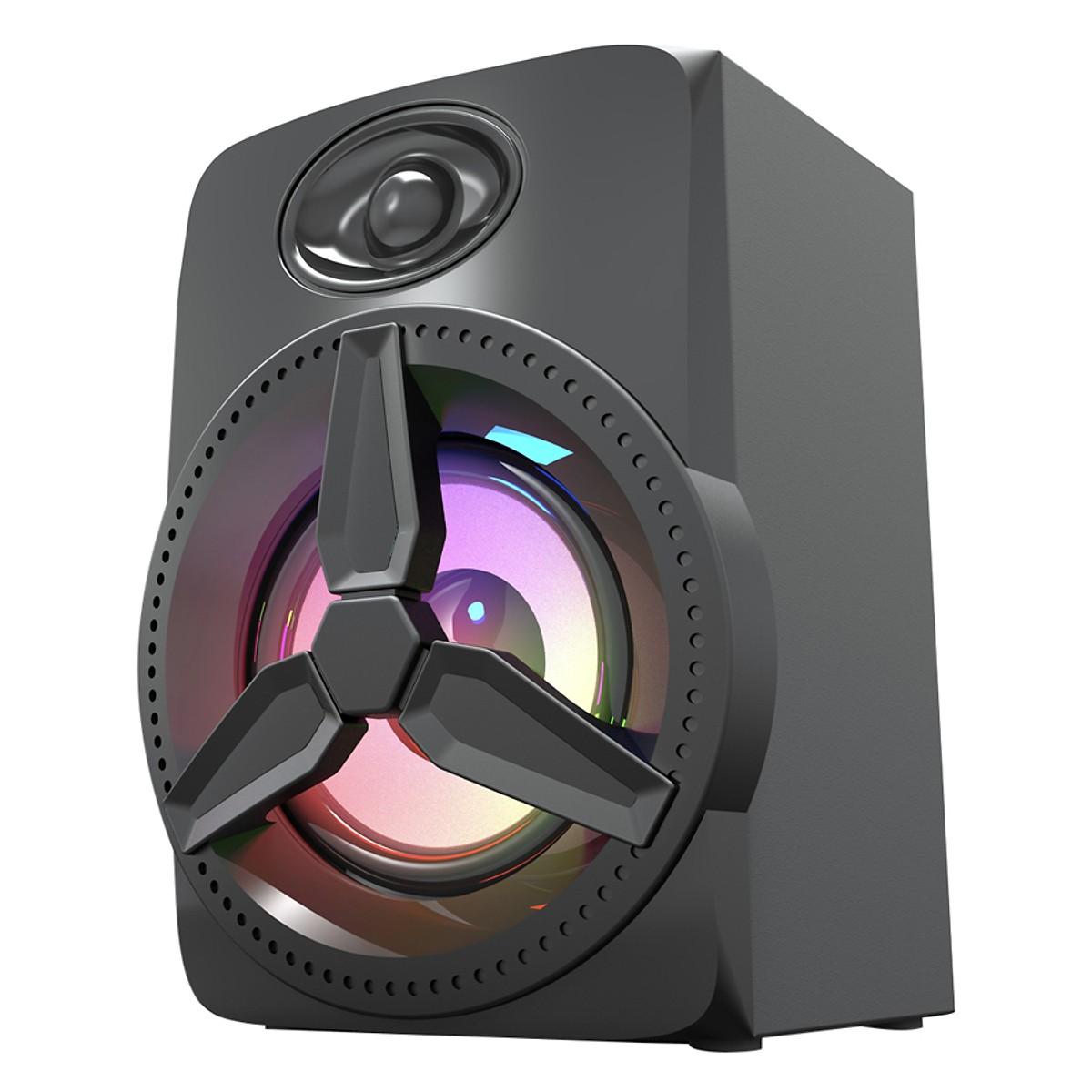 Loa vi tính 2.0 Bosston Z230 Led RGB Với Âm Thanh Vượt Trội