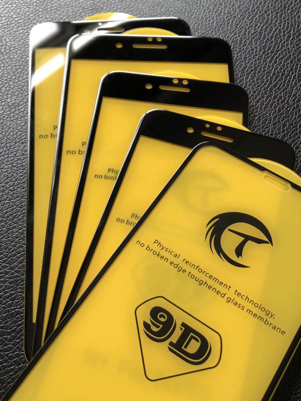 Kính cường lực 9D full màn hình Iphone 6, 6s, 7, 8, 6Plus, 6sPlus, 7Plus, 8Plus, X, Xs, Xs max
