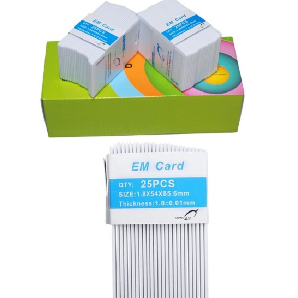 [ Set 50 cái] Thẻ từ máy chấm công tần số 125Khz - Mango dày 1,8mm