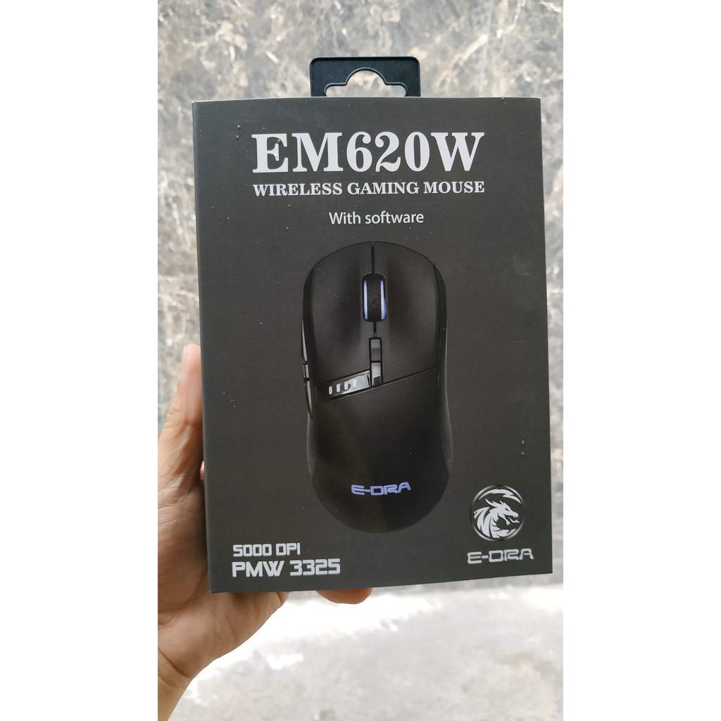 Chuột chơi game không dây E-Dra EM620W RGB Wireless version 2021 - Hàng chính hãng