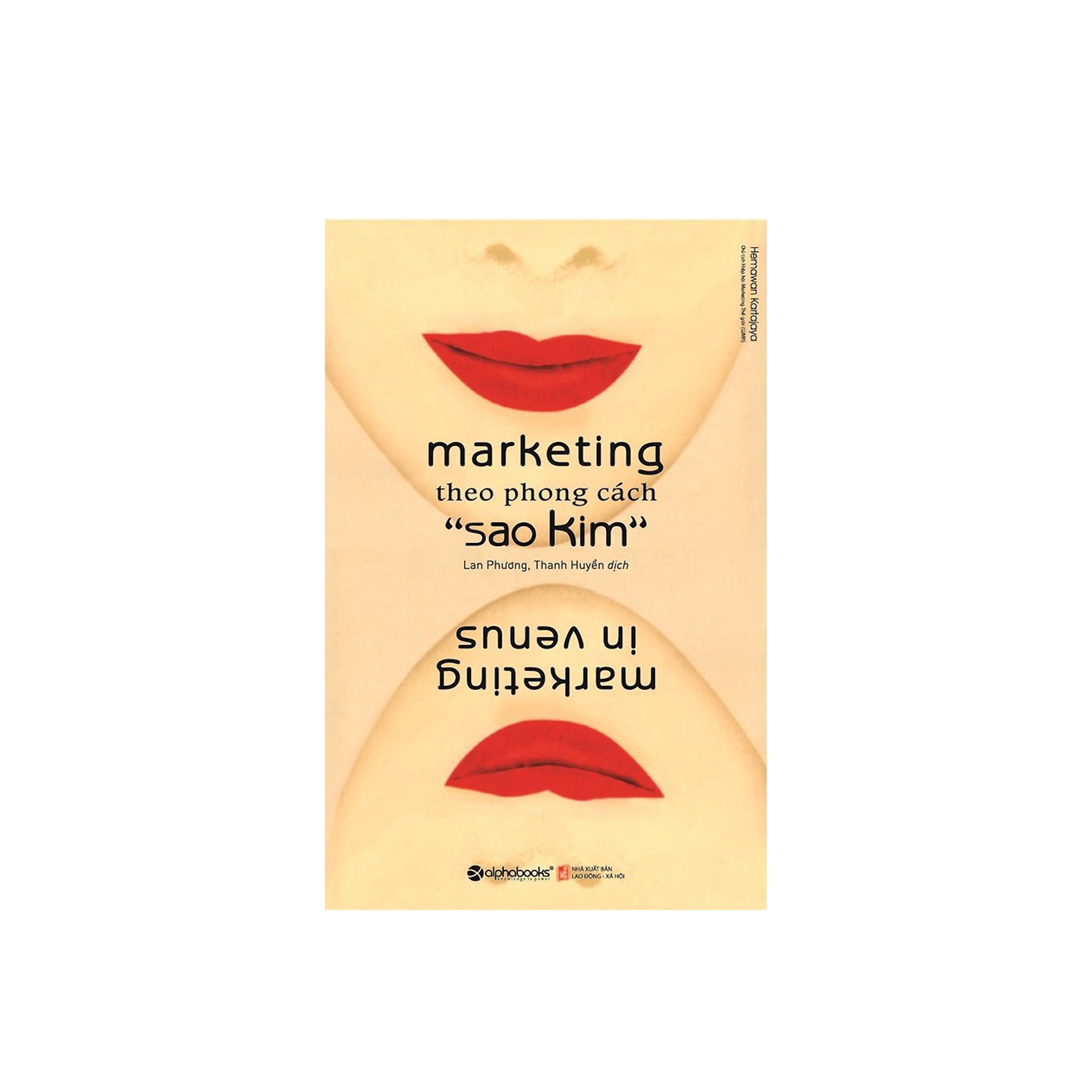 Combo Sách Kỹ Năng Marketing: Marketing Theo Phong Cách Sao Kim + Kinh Thánh Về Nghệ Thuật Bán Hàng