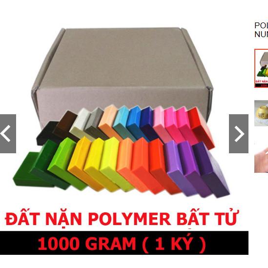 Polymer Clay combo 1000g 24 màu