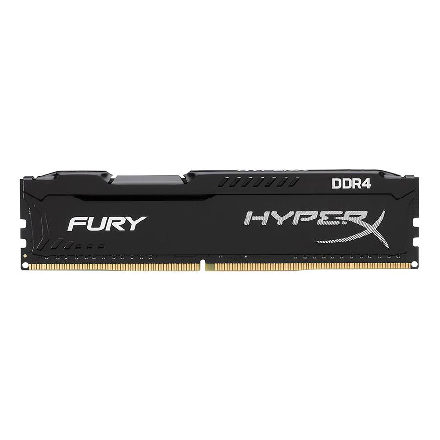 RAM PC Kingston 8GB HyperX Technology Fury Black DDR4 2666MHz CL16 HX426C16FB2/8 - Hàng Chính Hãng