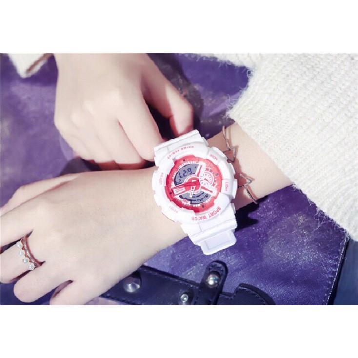 Đồng hồ thời trang nam nữ Sport Watch chạy kim và điện tử cực chất K5590