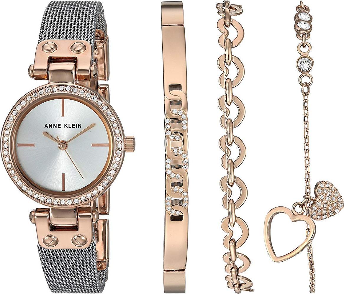 Bộ đồng hồ và vòng tay ANNE KLEIN 3425RTST