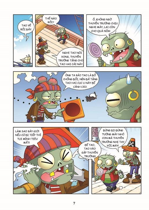 COMBO Trái Cây Đại Chiến Zombie - Câu Đố Bí Ẩn (Trọn bộ 5 cuốn)