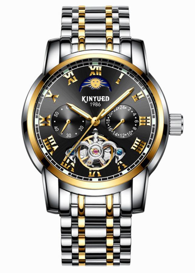 Đồng hồ cơ nam KINYUED hàng cao cấp, thiết kế phong cách doanh nhân, lịch lãm