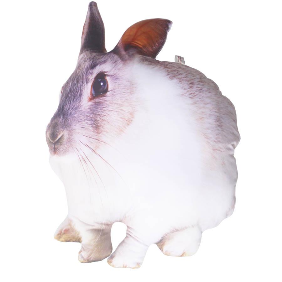 Gối Ôm Thỏ Ngọc Nhồi Bông - thú bông Hình Con Thỏ Trắng Dễ Thương