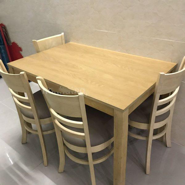 Bộ bàn ăn gia đình 4 ghế Cabin – Đủ màu