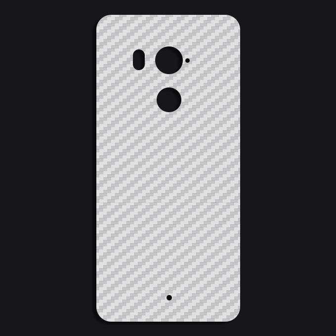 Miếng Dán Mặt Lưng Cacbon Dành Cho HTC U11 Plus- Handtown - Hàng Chính Hãng