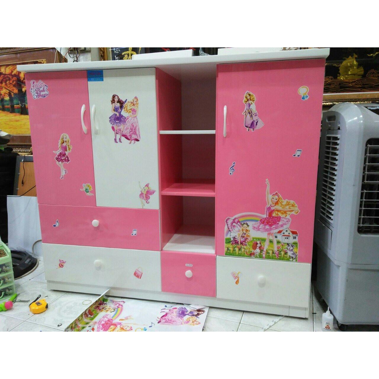 Tủ nhựa đài loan  trẻ em T008