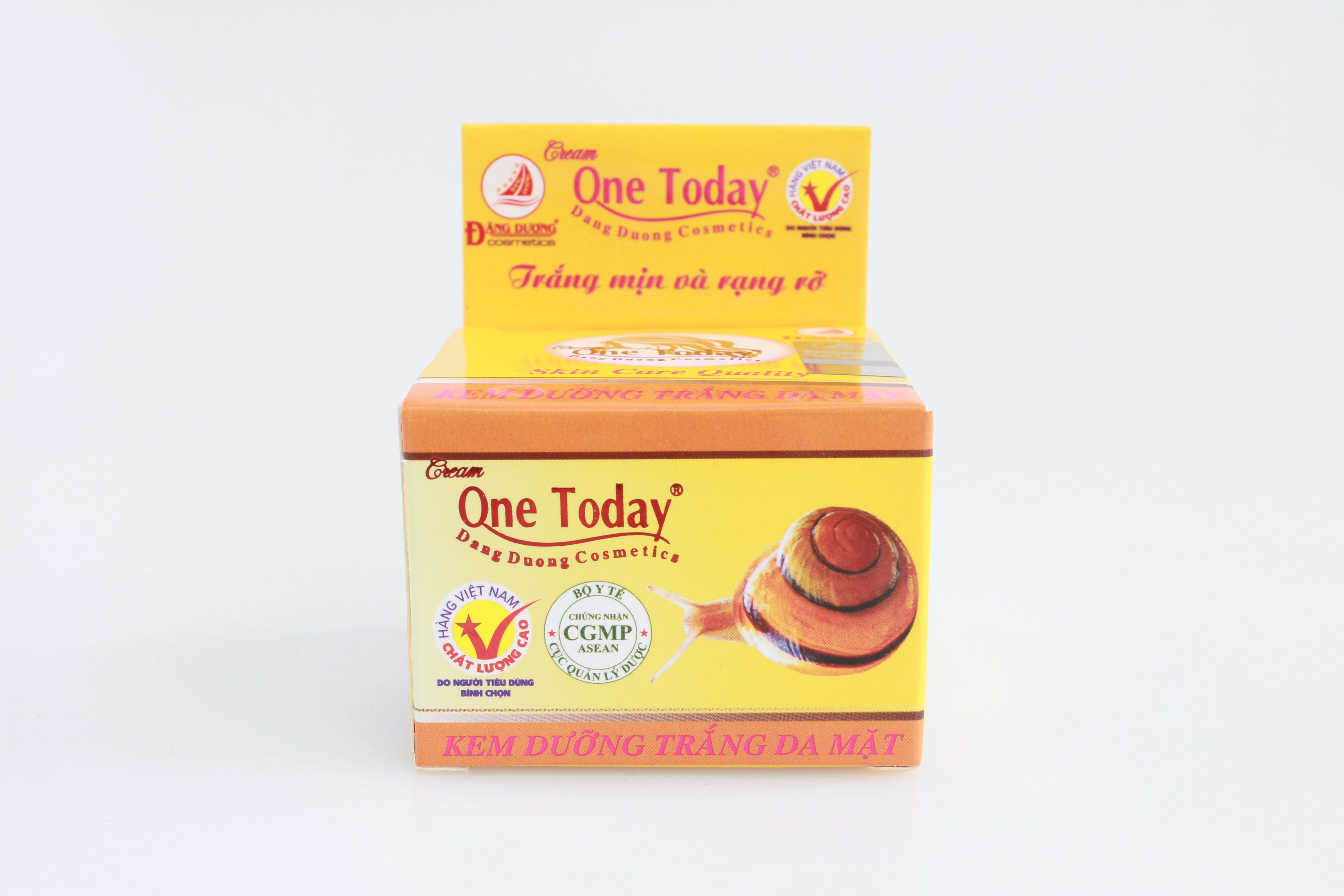 ONE TODAY - KEM DƯỠNG TRẮNG DA MẶT