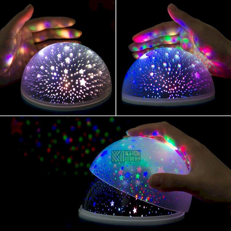 Đèn chiếu sao tự xoay 360 độ Star Master