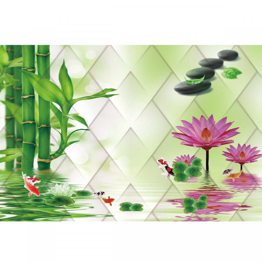 Decal hoa trang trí tường 3DH847