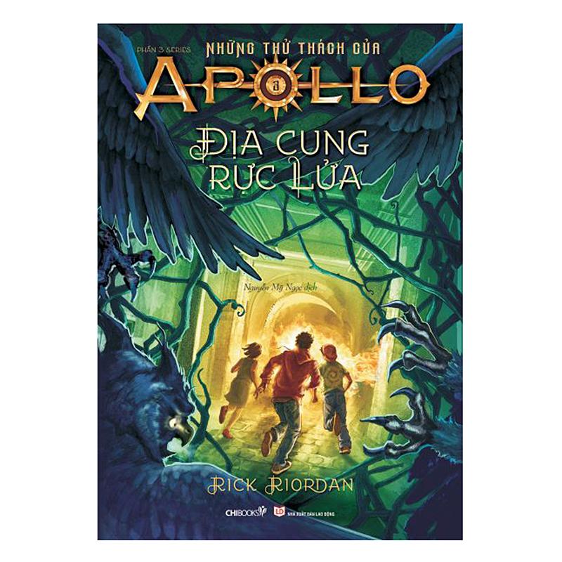 Series Những Thử Thách Của Apollo (Phần 3): Địa Cung Rực Lửa