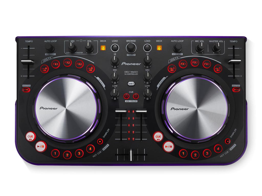 Máy DJ Controller DDJ-WeGO (Pioneer DJ) - Hàng Chính Hãng