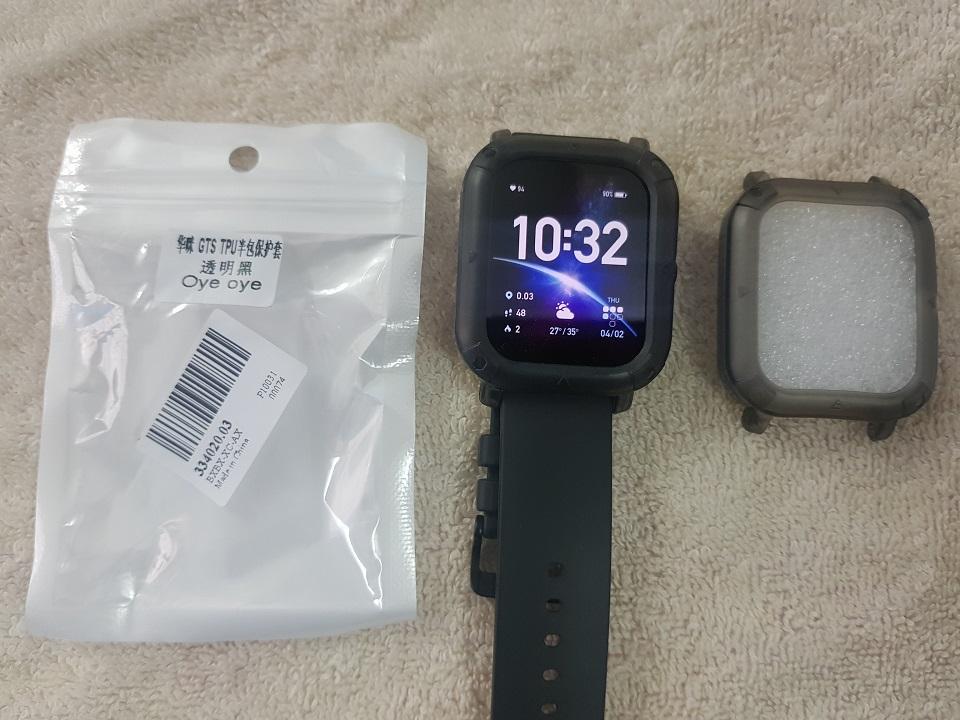 Ốp lưng TPU bảo vệ viền cho đồng hồ thông minh Amazfit GTS - được chọn màu theo ý thích
