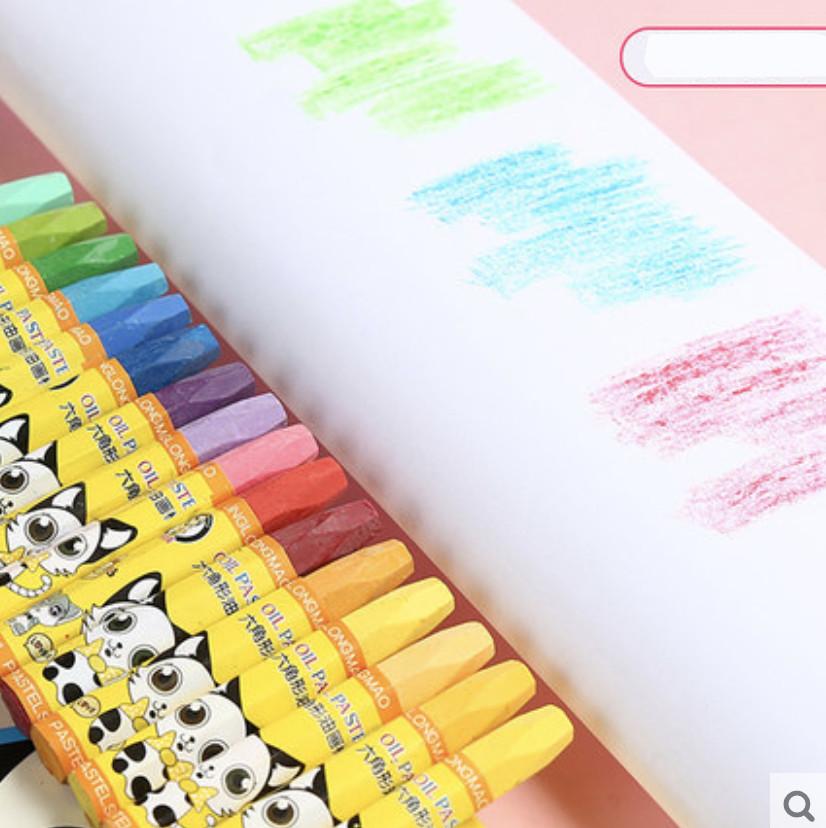 Bộ bút màu sáp 8 màu tập tô cho bé