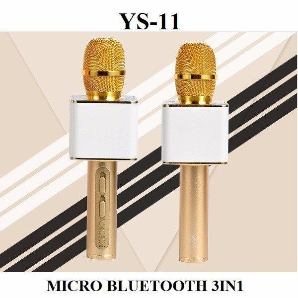 Micro hát Karaoke YS-11 phiên bản 2017 3in1 tích hợp Bluetooth
