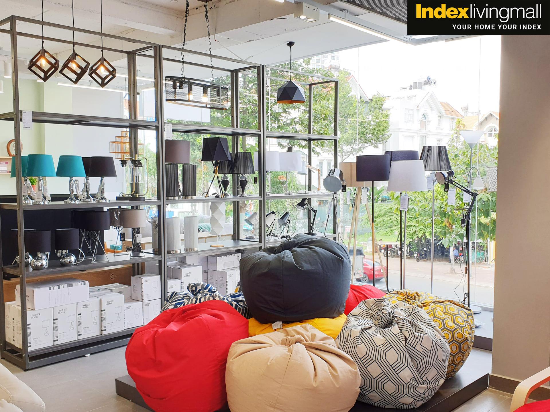 Đèn Bàn ORDINA Màu Xám Index Living Mall