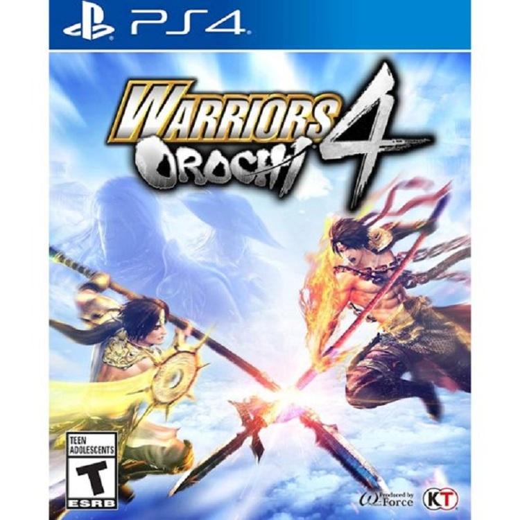Đĩa Game Ps4: Warrios Orochi 4 - Hàng Chính Hãng
