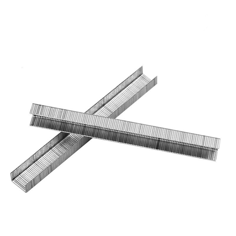 Ghim bấm gỗ chữ U loại 1008F thép không gỉ sử dụng cho máy bấm gỗ dùng đểm ghim chặt da, vải, nhựa, gỗ