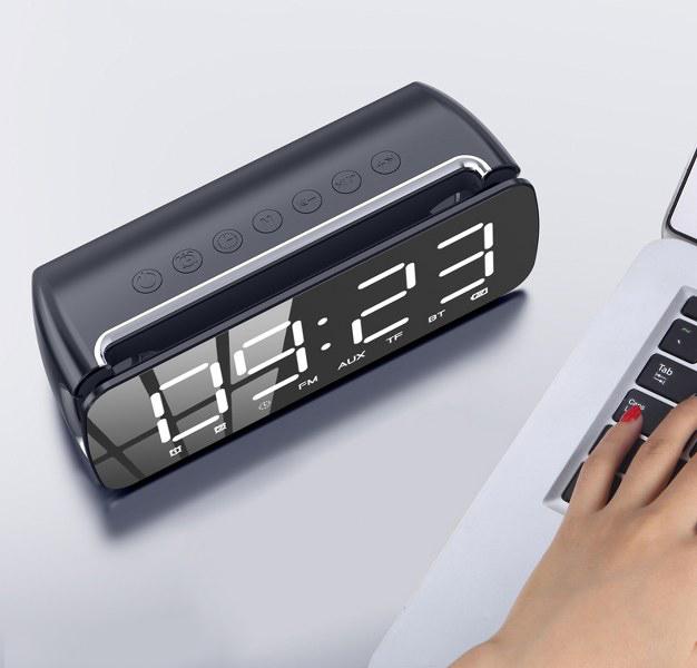 Loa Bluetooth siêu cấp mặt gương T68 - Âm thanh đỉnh cao - Hàng nhập khẩu