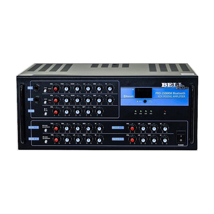 Âmpli karaoke 1506KM Bluetooth 16 sò bellplus  (hàng chính hãng)
