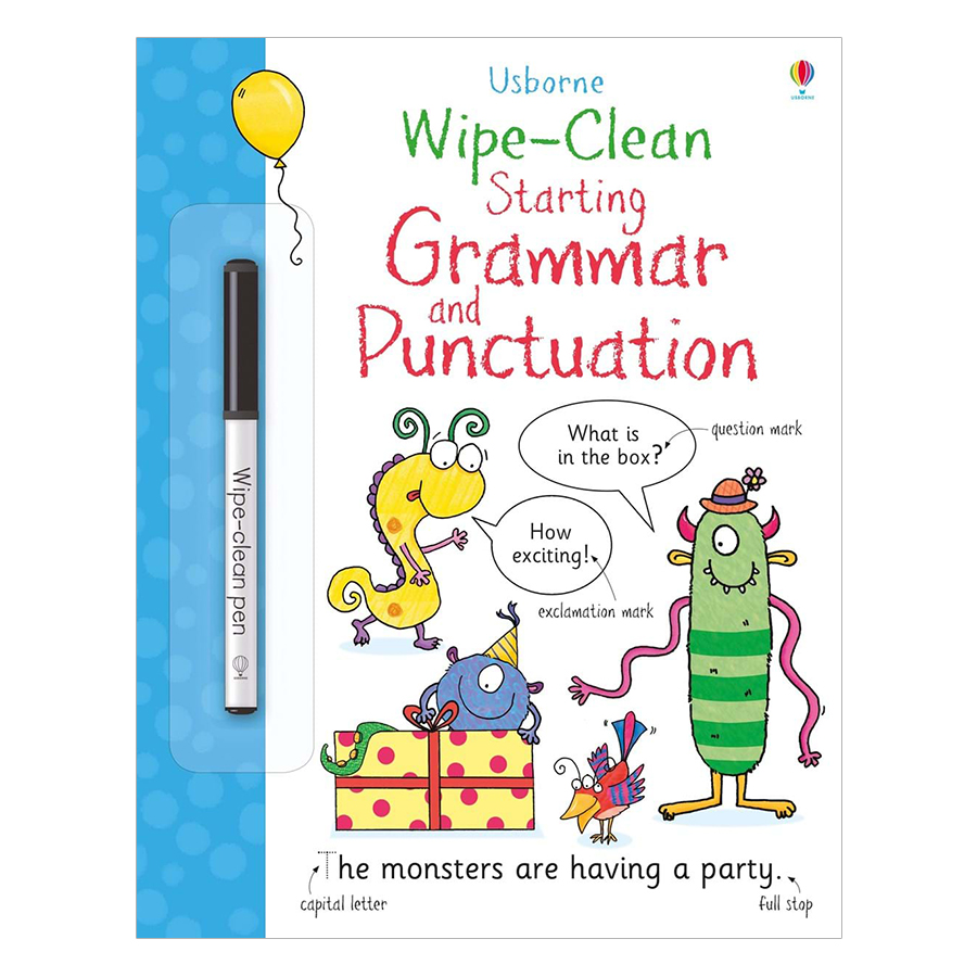 Sách tiếng Anh - Usborne Starting Grammar and Punctuation