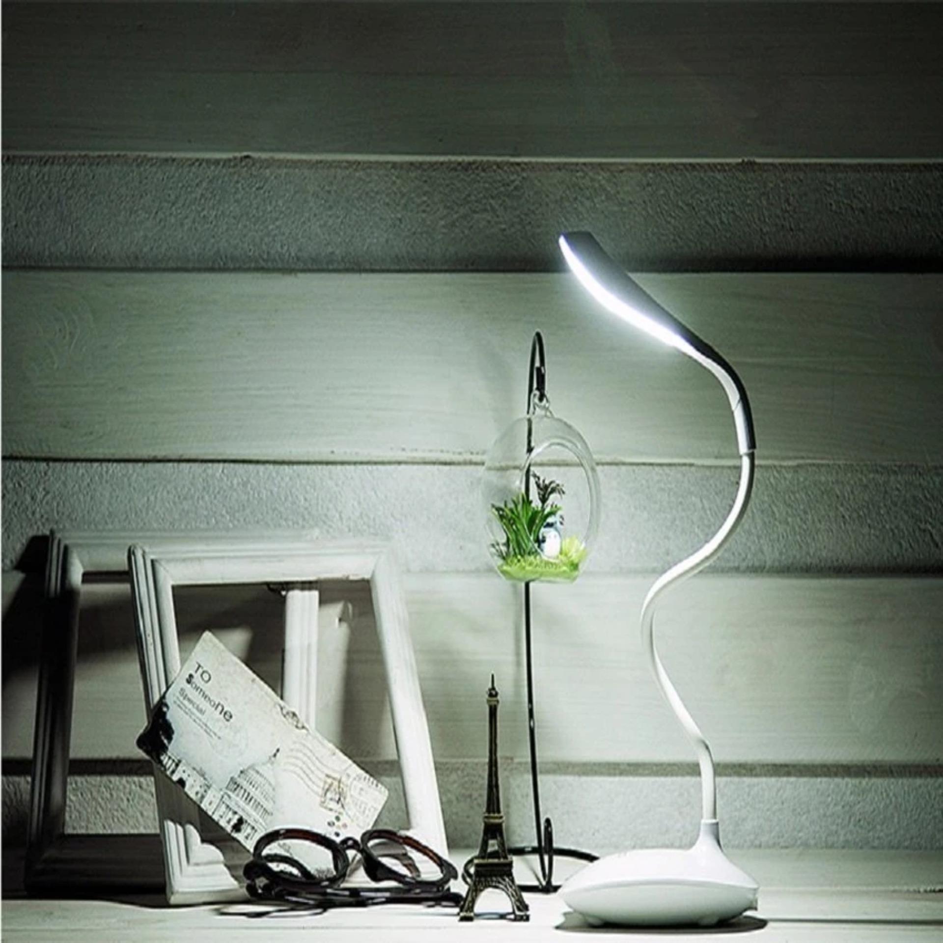 Đèn sạc để bàn chống cận PAN - Đèn học chống cận + Tặng bộ 12 bút màu