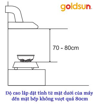 máy hút mùi Goldsun GS-190D