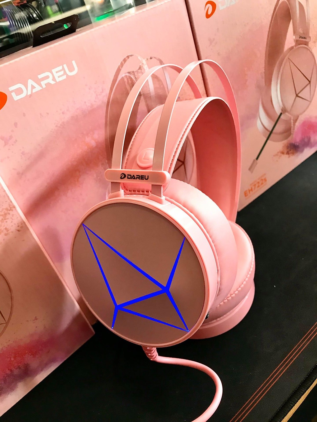 Tai nghe DareU EH722S Magic Queen 7.1 Surround - Hàng Chính Hãng