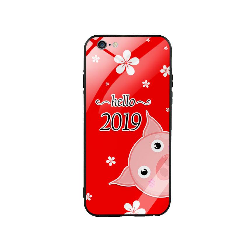 Ốp Lưng Kính Cường Lực cho điện thoại Iphone 6 Plus  6s Plus - Hello 20192