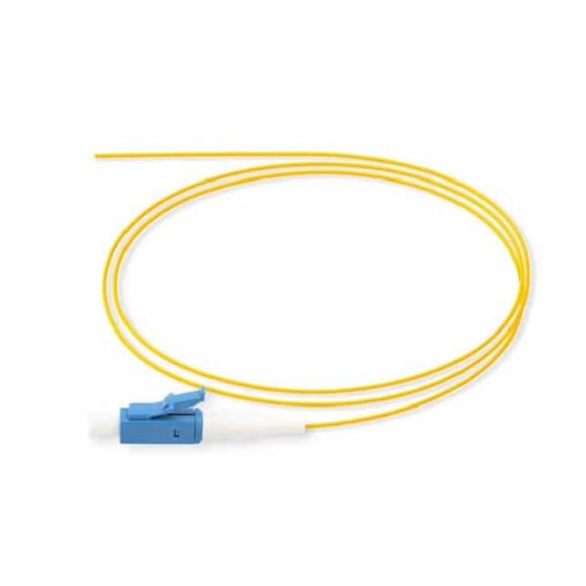 Dây Hàn Quang - VIVANCO SC/PC 9/125 Single Mode Simplex Fibre Pigtail, Yellow, 1m. Hàng Chính Hãng