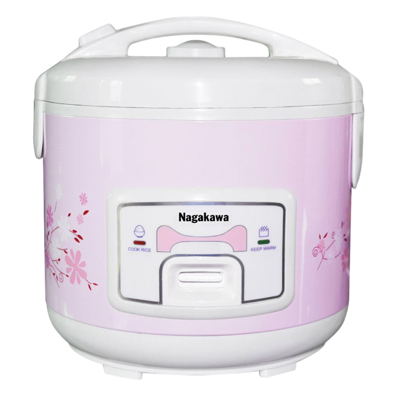 Nồi Cơm Điện Nắp Gài Nagakawa NAG0115 (1.2 Lít) - Hàng Chính Hãng