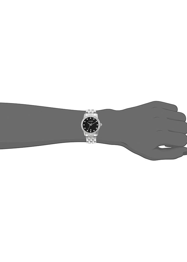 Đồng Hồ Nữ Dây Kim Loại CITIZEN EU6030-56E (27mm) - Mặt Đen