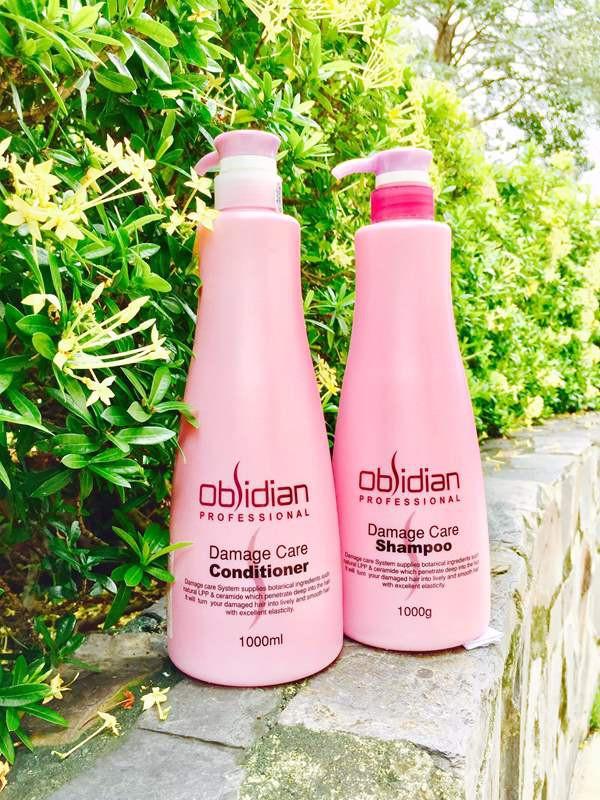 Dầu xả tái tạo tóc Obsidian Professional Damage Care Conditioner Hàn Quốc 1000ml tặng kèm móc khoá