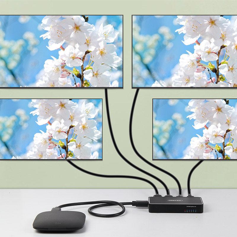 Bộ Chia HDMI 4K 1 ra 4 Unitek V1109A Cao Cấp AZONE