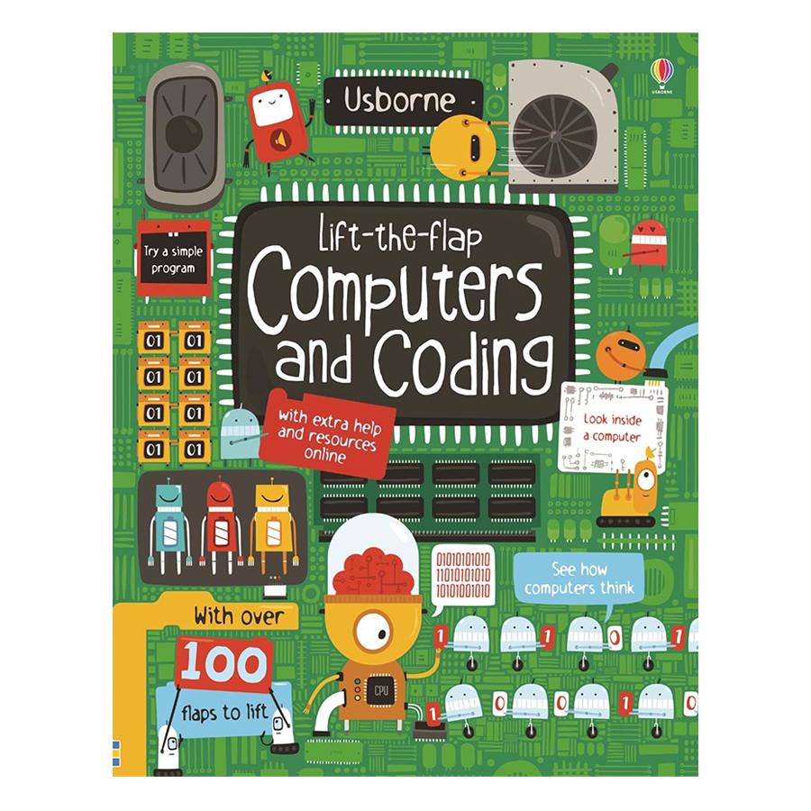 Sách tương tác tiếng Anh - Usborne Lift-the-flap Computers and Coding