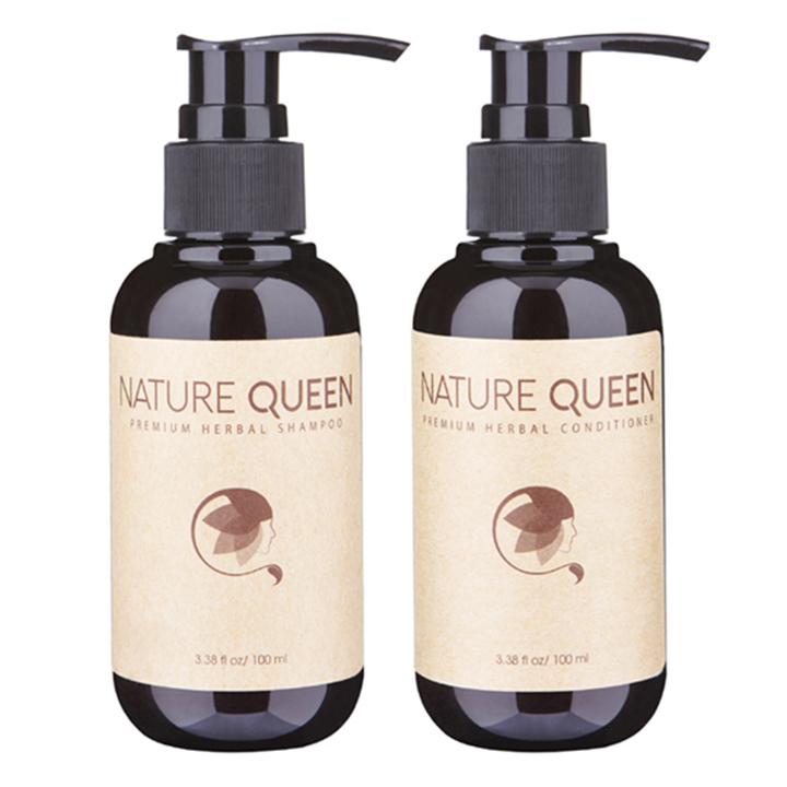 [ Bộ Gội Xả ] Nature Queen  Kích thích mọc tóc 480ml